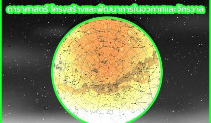 ดาราศาสตร์ โครงสร้างและพัฒนาการในอวกาศและจักรวาล